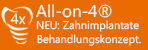 All-on-4-Zahnimplantate Behandlungskonzept